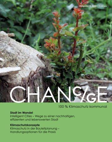 100 % Klimaschutz kommunal - Chanc/ge Magazin
