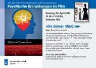 Die dünnen Mädchen» Psychische Erkrankungen im Film - Klinik für ...