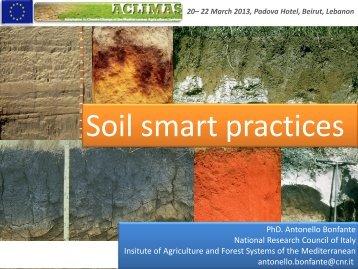 Soil - ACLIMAS