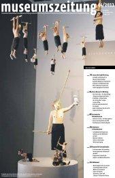 Museumszeitung, Ausgabe 40 vom 29. November 2011