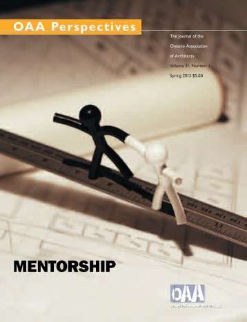 MENTORSHIP - Ontario Association of Architects