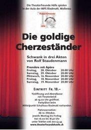 Programmheft 2011.pdf - Theaterfreunde Höfe
