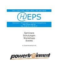 Seminare Schulungen Workshops Events - HEPS
