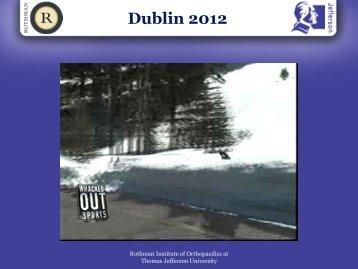 Dublin 2012 - esska-afas