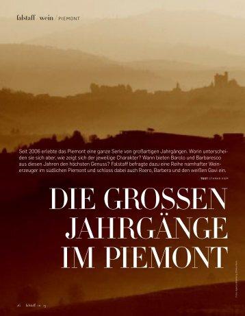 Die grosse Jahrgänge im Piemont falstaff 01/13 - Elena Altare