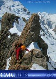 May 2013 News - Canterbury Mountaineering Club
