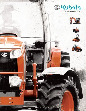 Narrow Models - Kubota Tractor Corporation