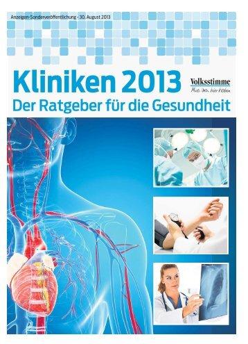 Kliniken 2013 - Volksstimme