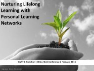 Personal Learning Networks - The Unquiet Librarian - WordPress.com