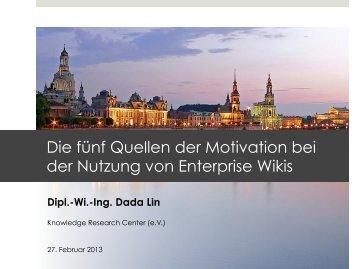 Track 5 - Presentation - Lin.pdf - WI 2013