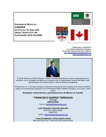 Embajada y datos del país