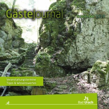 September 2013 (pdf, 3,08 MB) - Bad Urach