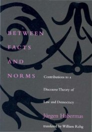 Between Facts and Norms - Contributions to a ... - Blogs Unpad