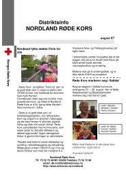 NORDLAND RØDE KORS