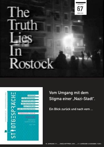 """Vom Umgang mit dem Stigma einer """"Nazi-Stadt"""". - Stadtgespräche ..."""