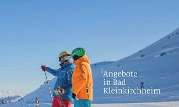 Angebote in Bad Kleinkirchheim