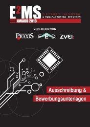 Ausschreibung EMS-Award 2013