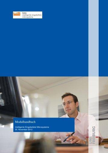 Modulhandbuch (.pdf) - Master Online Intelligente Eingebettete ...