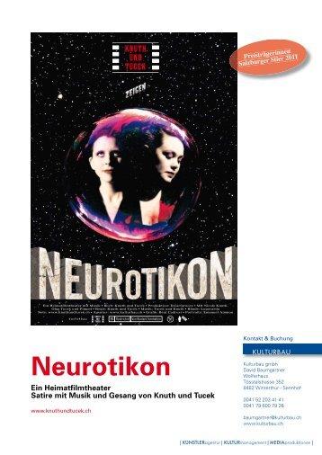 Pressetext Neurotikon - Knuth und Tucek