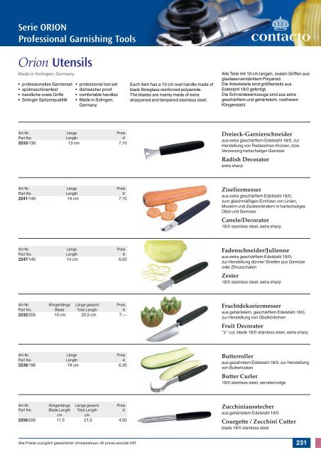 Messer Knives
