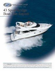 43SB Boat Report 2005 - Silverton