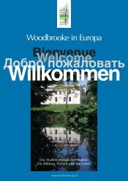 Woodbrooke in Europa - Woodbrooke Quaker Study Centre