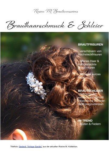 Brauthaarschmuck und Schleier - Braut-Accessoires von Rosine M.