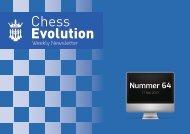 Nummer 64 - Chess Evolution Weekly Newsletter