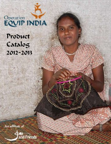 OEI Handicrafts Catalog (New) - Operation EQUIP INDIA