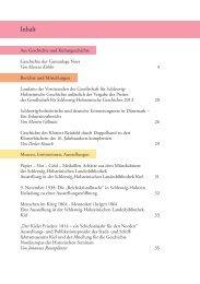 Mitteilungen 85.indd - Geschichte in Schleswig-Holstein