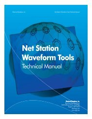Net Station Waveform Tools - College of Education & Human ...