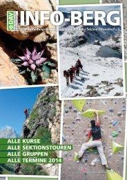 INFO-BERG_2014 - Deutscher Alpenverein