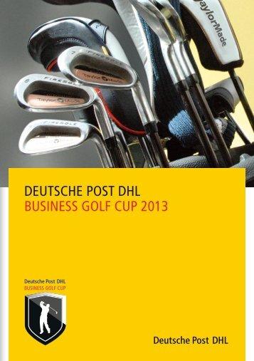 DEUTSCHE POST DHL BUSINESS GOLF CUP 2013