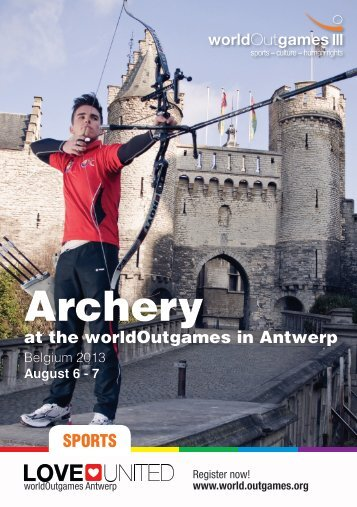 Archery - World Outgames Antwerp 2013