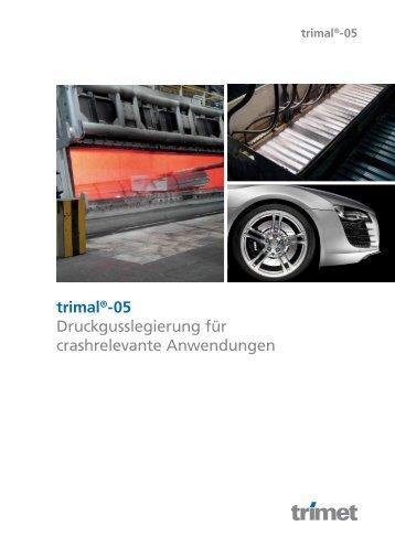 trimal®-05 - TRIMET Aluminium SE