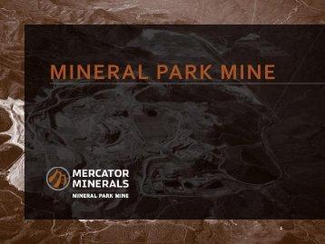 to view PDF - Mercator Minerals Ltd.