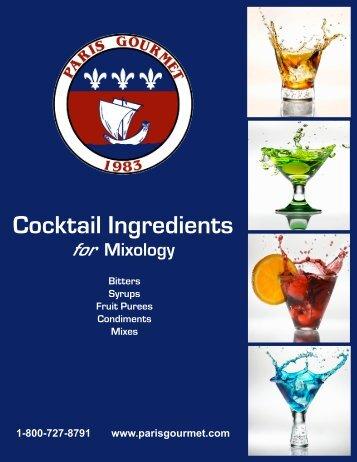 Cocktail Ingredients - Hubspot.net