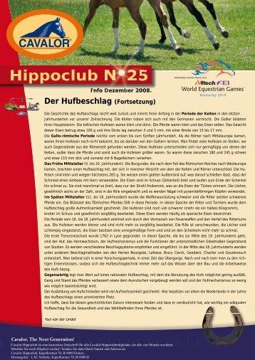 hippoclub 25 de.indd - Cavalor