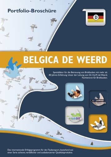 Download Brochure - Belgica De Weerd