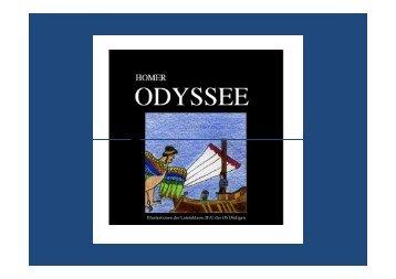 Homer, Odyssee, Inha..