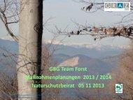 Revision Waldwirtschaftsplan 2012 - GBG Gebäude- und ...