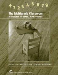 Book 4: Instructional Organization, Curriculum, and Evaluation
