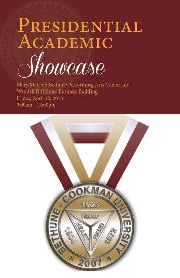 Presidential Academic Showcase - Bethune-Cookman University