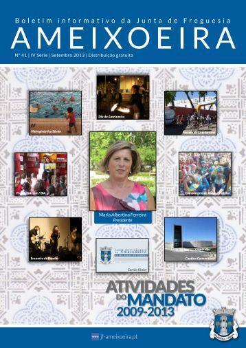 Boletim Informativo Nº 41 - Setembro 2013 - Junta de Freguesia da ...