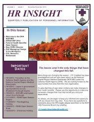 HR Insight Newsletter Volume 2, Issue 1-NovDec 2013-External