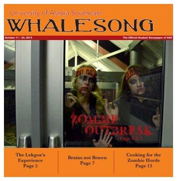 October 11th, 2013 - University of Alaska Southeast