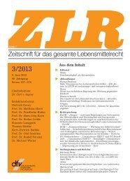 ZLR 3 2013 Biomineralwasser.pdf, Seiten 1-13 - Zenk Rechtsanwälte
