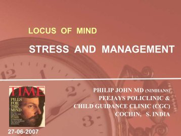 LOCUS OF MIND - Peejays Policlinic & Child Guidance Clinic