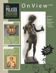 Fall 2013 - The Albin Polasek Museum & Sculpture Gardens