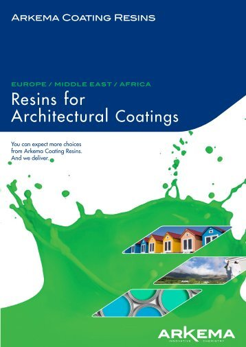 Resins for Architectural Coatings - Arkema Americas